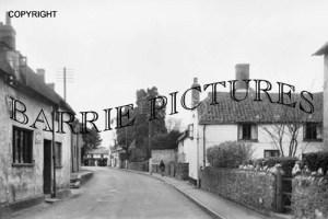 Williton, Long Street c1945