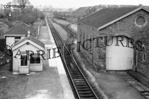 Wookey, Station 1955
