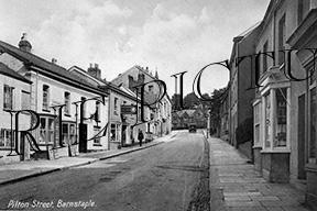 Barnstable, Pilton Street c1945