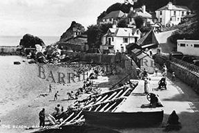 Babbacombe, Beach c1955
