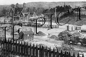 Axminster, Station c1905