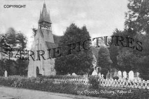 Ashurst, The Church Colbury c1905