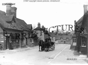 Beaulieu, Village c1905