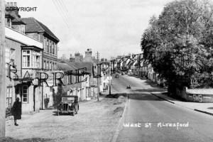 Alresford, West Street c1950
