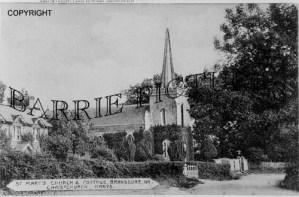 Bransgore, St Marys Church c1900