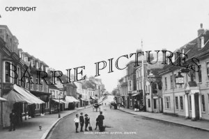 Alton, High Street c1910