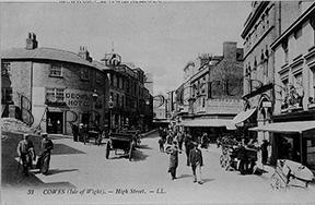 Cowes, High Street c1900