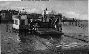 Cowes, The Floating Bridge c1935