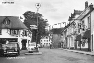 Chagford, Dartmoor c1950