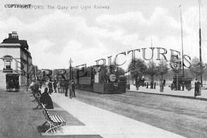 Bideford, the Quay c1910