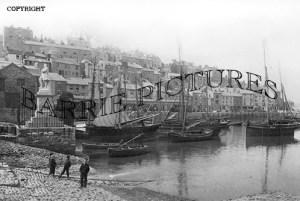Brixham, the Embankment 1889