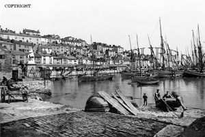 Brixham, from the Harbour 1900