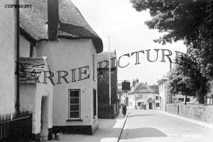 Chagford, High Street c1950