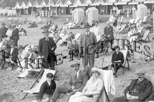 Bournemouth, The Beach c1935