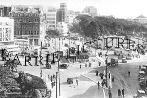 Bournemouth, The Square c1950