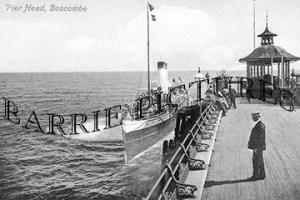 Boscombe, Pier c1910