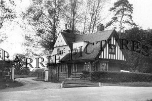 Kingstag, The Lodge, Stock House c1930