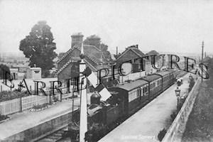 Sutton Scotney, Railway Station c1910