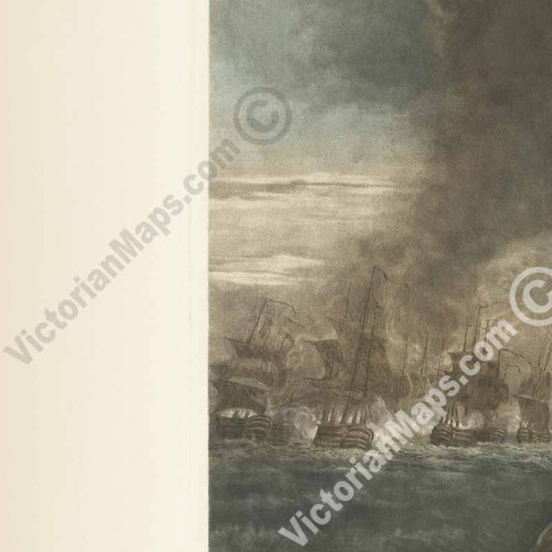 antique print Admiral Horatio Lord Nelson portrait by C Turner 1806 art poster