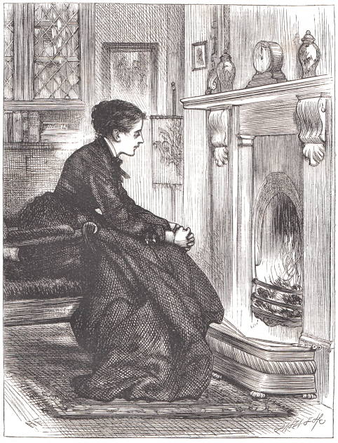 Here Was Louisa, On The Night Of The Same  Day, Watching The Fire As In Days Of Yore.