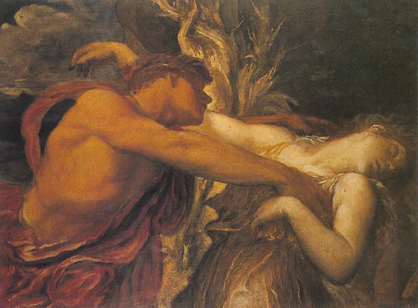 Orfeo y Euridice de George Frederick Watts