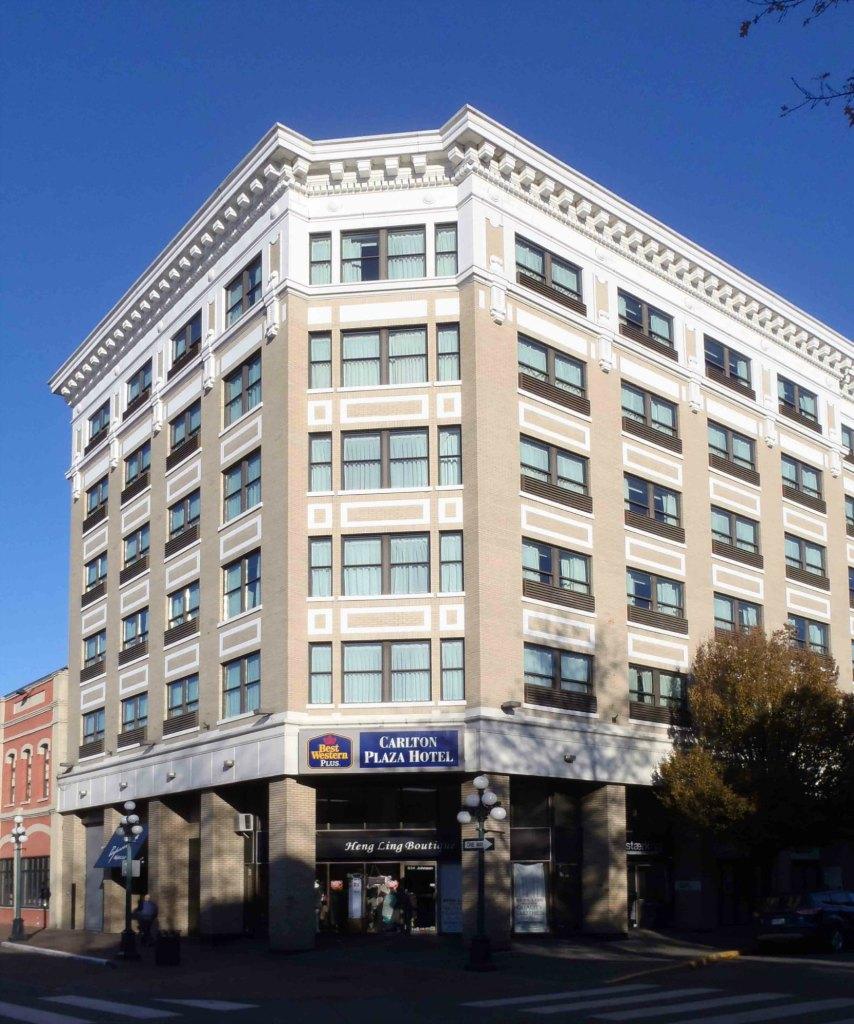 Carlton Plaza Hotel, 642 Johnson Street. 1981 addition.