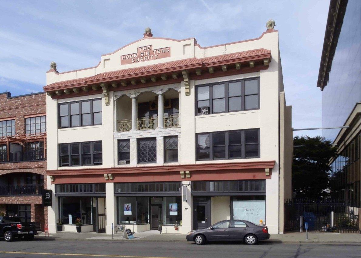 Hook Sin Tong Charity building, 658-666 Herald Street