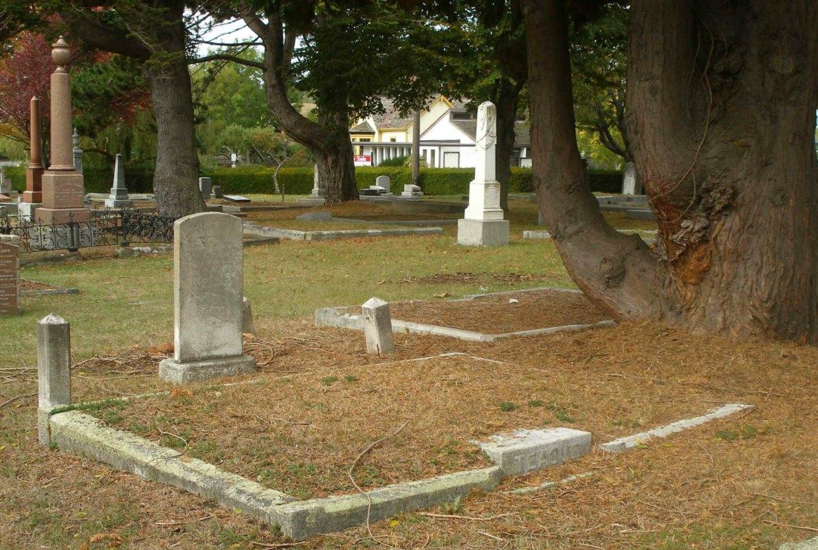 John Teague grave, Ross Bay Cemetery, Victoria, B.C.