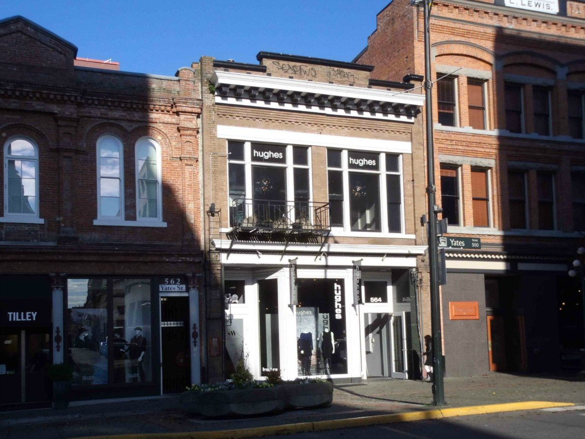 564 Yates Street, built circa 1861