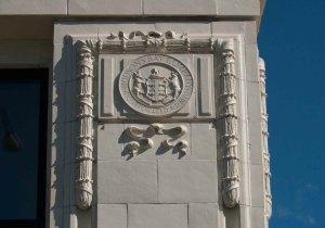 The Hudson's Bay Company logo is still visible on The Hudson, 1701 Douglas Street