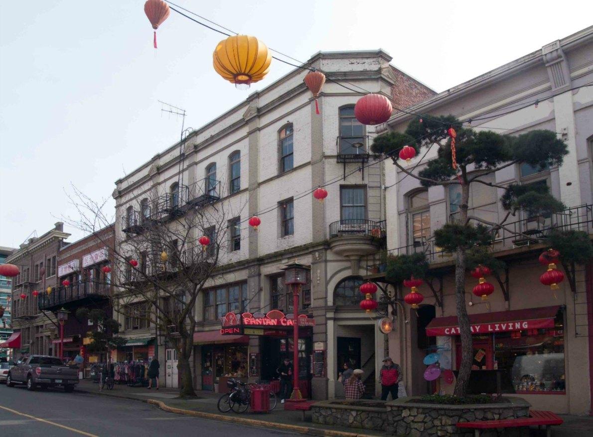 549-555 Fisgard Street, built in 1893 by architect William Ridgway Wilson for Loo Tai Cho.