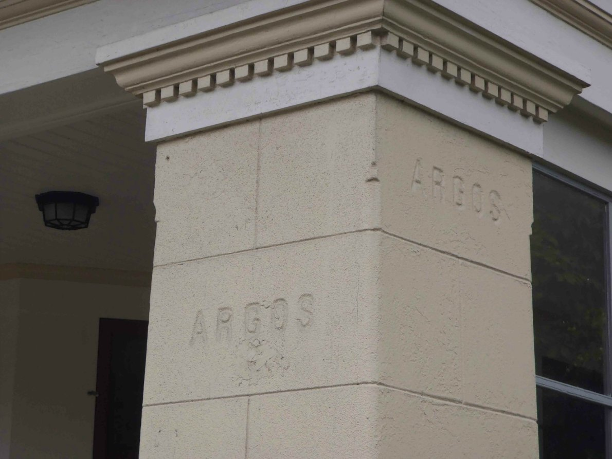 Detail on Argos, 1480 Stadacona Avenue, built by designer/builder David Bale