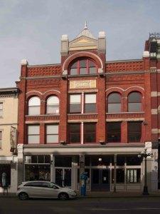 The Milne Building, 546-548 Johnson Street, built in 1891 for Alexander Roland Milne