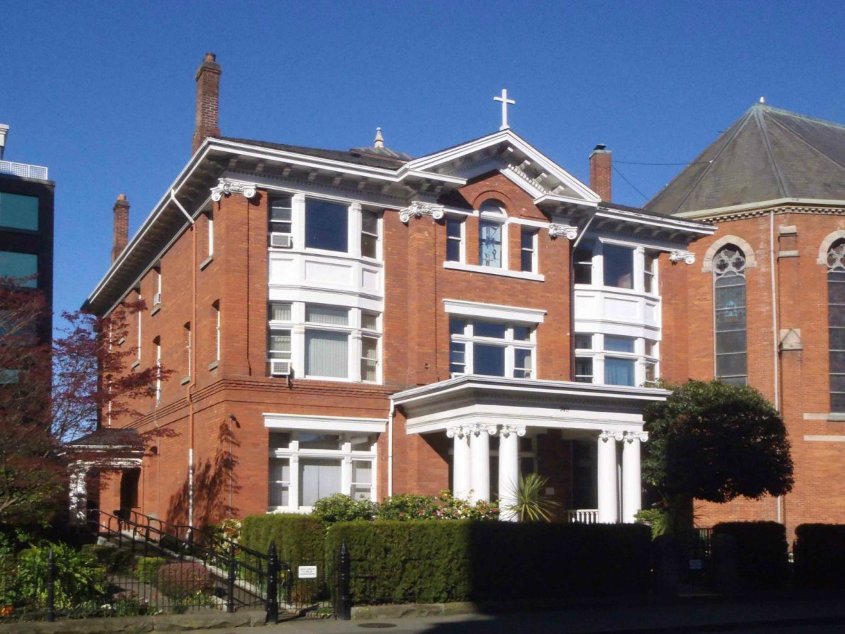The Roman Catholic Bishop's Residence, 740 View Street, built in 1907 by architects Thomas Hooper and C. Elwood Watkins