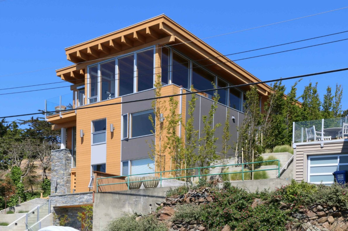 526 Beach Drive, Oak bay. Built in 2014.