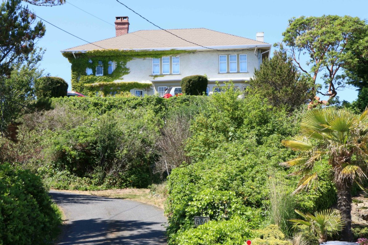 644 Beach Drive, built in 1927 by architect Samuel Maclure for Gardiner Boyd and Grace Boyd.