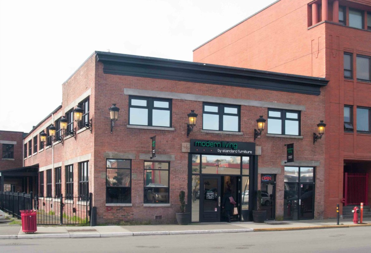 This building at 1630 Store Street was built in 1912 as a machine shop.