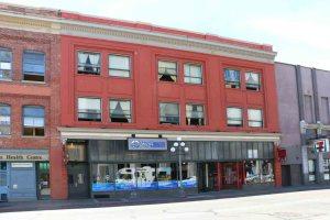 The Scott Building, 705-711 Johnson Street. Built in 1912 for Robert Scott by architect Leonard W. Hargreaves.