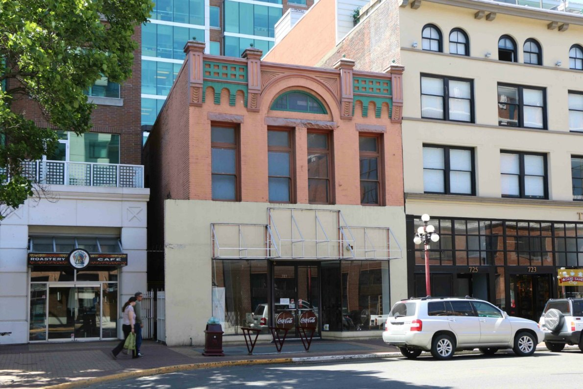 727-729 Yates Street (photo by Victoria Online Sightseeing Tours)