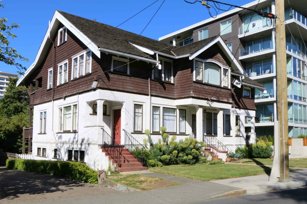 Emily Carr's House of All Sorts, 646 Simcoe Street in Victoria's James Bay district.