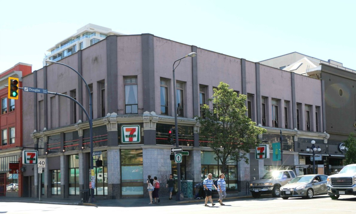 The Craft * Norris Block, 1319-1329 Douglas Street (photo by Victoria Online Sightseeing Tours)