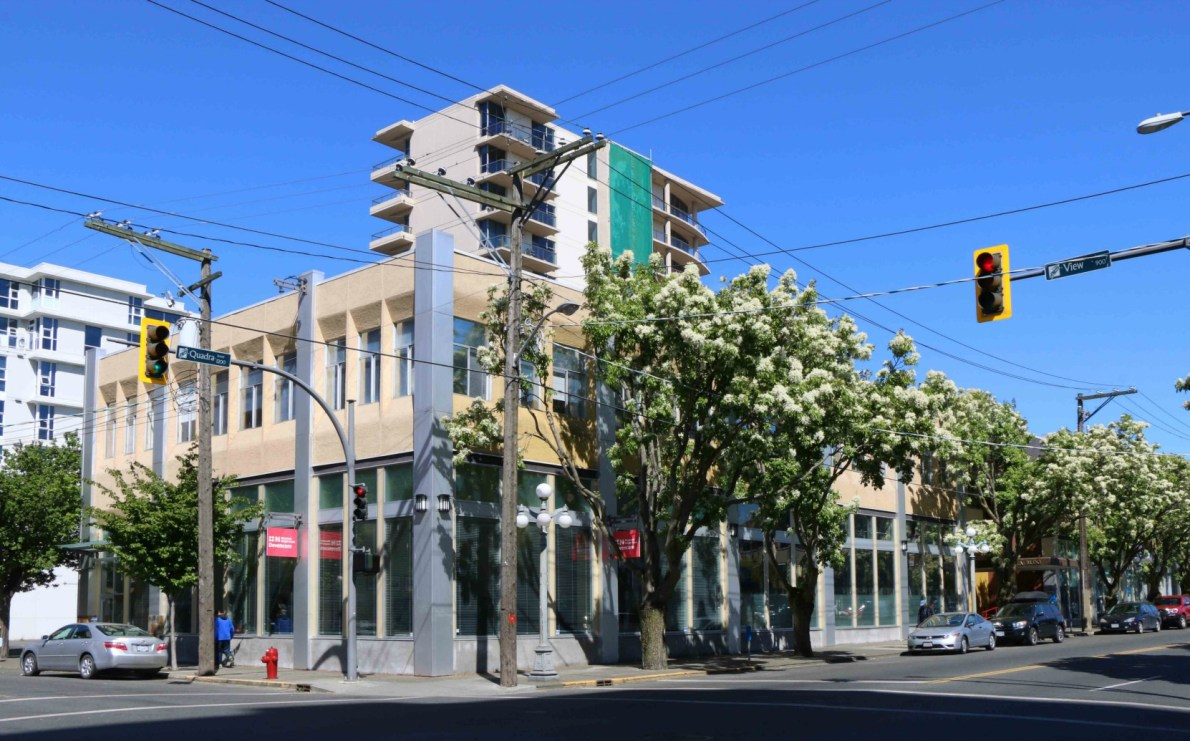 1250 Quadra Street, from View Street (photo by Victoria Online Sightseeing Tours)