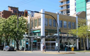 1250 Quadra Street, viewed from Yates Street (photo by Victoria Online Sightseeing Tours)