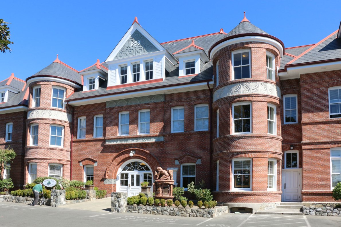 The Cridge Center, originally built in 1893 by architect Thomas Hooper as the B.C. Protestant orphans Home (photo by Victoria Online Sightseeing Tours)