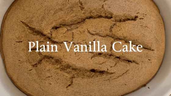 Simple Basic Vanilla Cake Recipe