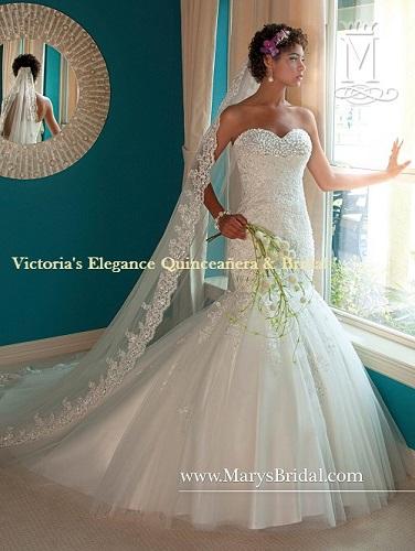 6207 Mermaid Wedding Bridal Gown