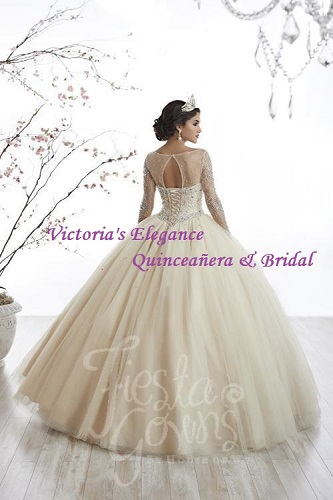 Corset Back Ballgown available @ www.victoriaselegance.com
