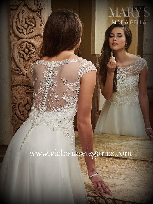 199e4264f75 Moda Bella Organza A-Line Gown MB2030 – Victoria s Elegance ...