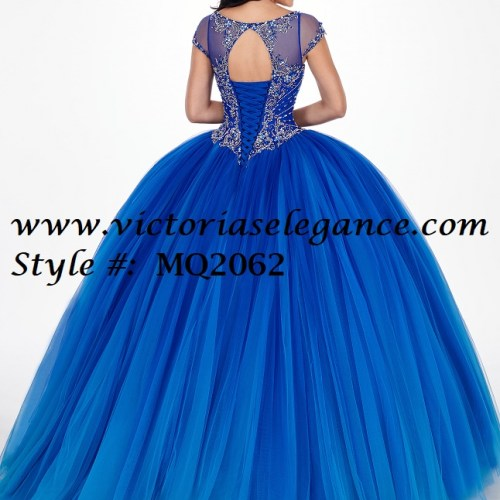 Ombre Tulle Ball Gown, Prom Gala Pageant, Quinceanera Ball Gown, Sweet 16