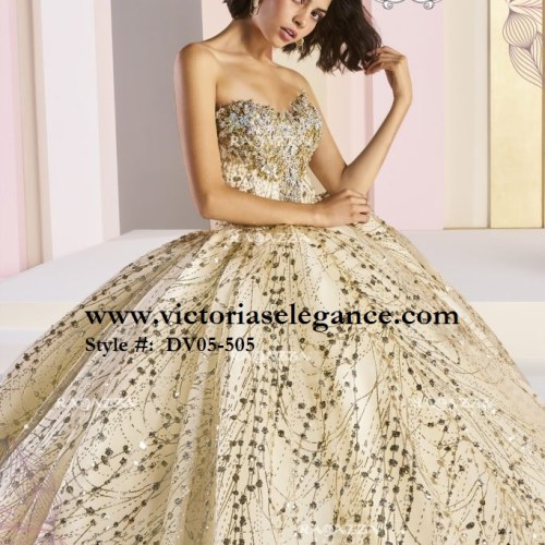 Ragazza Fashion, Ether, Quinceañera, Couture Gown